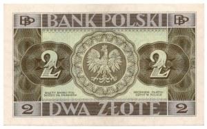 2 złote 1936 - seria CD
