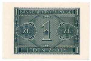 1 złoty 1941 - seria BD
