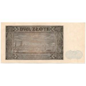 2 złote 1948 - seria BR