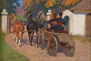 Zygmunt Rozwadowski, WYJAZD ZDWORU, 1921