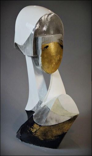 Konrad ZIÓŁKOWSKI (ur. 1981), Lorelei, z cyklu: Popiersia postkubistyczne-Lorelei, 2010