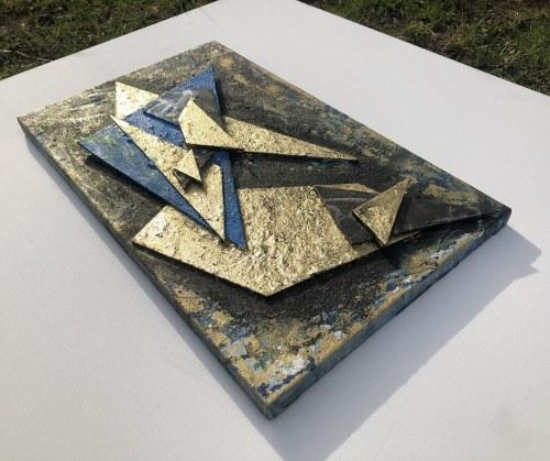 Mariola ŚWIGULSKA (ur. 1961), Złota geometria, 2021