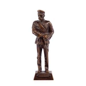 Autor nieokreslony, XX w., Figurka Marszałek Józef Piłsudski