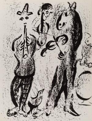 Marc Chagall, Wędrowni muzykanci