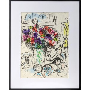 Marc Chagall, Les Anemones, 1974