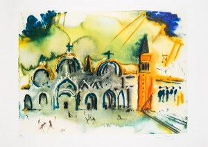 Salvador Dali, Homage to Venice, Basilica San Marco