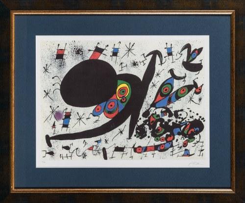 Joan Miro, Tribute to Joan Pratts, 1978