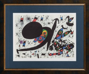 Joan Miro, Tribute to Joan Pratts, 1978