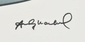 Andy Warhol (1928-1987): Campbell soup. Litográfia, papír, jelzett a nyomaton. Kézzel sorszámozott 26...