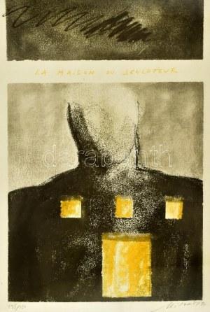 Igor Mitoraj (1944-2014): La maison du sculpteur, 1991. Litográfia, papír, jelzett. Számozott: 235/250...