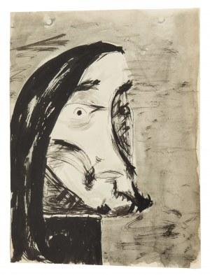 Tadeusz Brzozowski (1918 Lwów - 1987 Rzym), Portret, 1940
