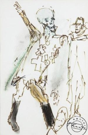Tadeusz Kantor (1915 Wielopole Skrzyńskie-1990 Kraków), Projekt kostiumu