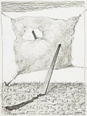Józef Szajna (1922 Rzeszów - 2008 Warszawa), Flaga, 1992