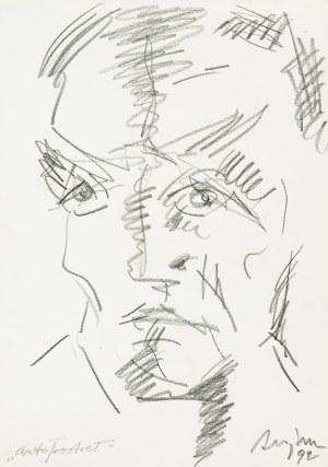 Józef Szajna (1922 Rzeszów - 2008 Warszawa), Autoportret, 1992