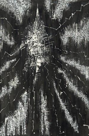 Jerzy Tchórzewski (1928-1999), Kompozycja abstrakcyjna, 1962