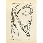 Roman Opałka (1931 Abbeville-Saint-Lucien - 2011 Rzym), Portret mężczyzny, 1956 r.