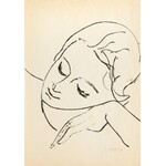 Roman Opałka (1931 Abbeville-Saint-Lucien - 2011 Rzym), Portret Halszki, 1956
