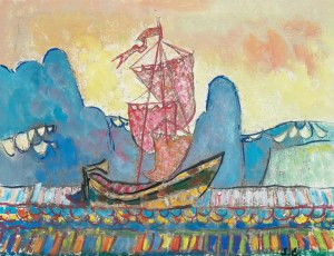 Stanisław Eleszkiewicz (1900 Czutowo k. Połtawy - 1963 Paryż), Boat