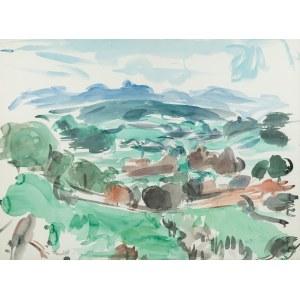 Wacław Zawadowski (1891 Skobiełka/Wołyń - 1982 Aix-en-Provence), Pejzaż