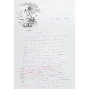 Wojtek Siudmak (ur. 1942), List Wojciecha Siudmaka