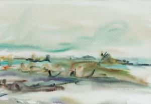 Brygida Ingrid Mrozek (ur. 1940 r.), Pejzaż, 1983 r.