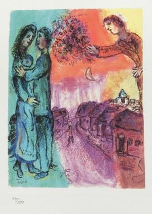 Marc Chagall (1887-1985), Miłość w przestrzeni