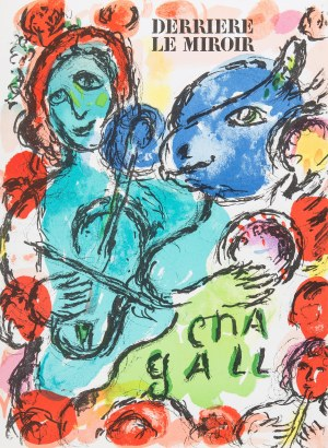 Marc Chagall (1887-1985), Okładka Derriere le Miroir