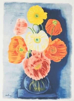 Mojżesz Kisling (1891 Kraków - 1953 Sanary-sur-Mer), Kwiaty w wazonie