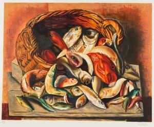 Mojżesz Kisling (1891 Kraków - 1953 Sanary-sur-Mer), Martwa natura z rybami