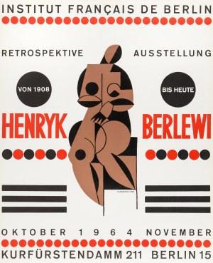 Henryk Berlewi (1894 Warszawa - 1967 Paryż), Wystawa retrospektywna, 1964 r.