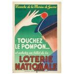 Louis Marcoussis (1878 Warszawa - 1941 Cusset), Touchez le pompon..., 1940 r.