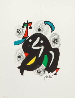 Joan Miro (1893 Barcelona - 1983 Palma de Mallorca), Z cyklu Kwaśna melodia