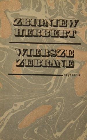 Herbert Zbigniew - Wiersze zebrane.