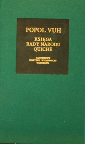 Bibliotheca Mundi - Popol Vuh. Księga Rady Narodu Quiche.
