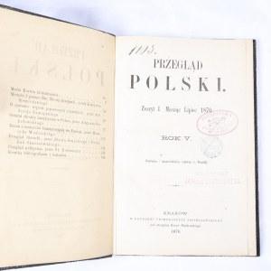 Przegląd Polski 1870, R. V, Z. I, lipiec