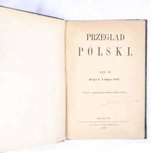 Przegląd Polski 1871, R. VI, Z. I, lipiec