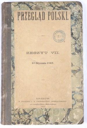 Przegląd Polski 1867, Z. VII, styczeń