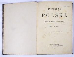Przegląd Polski 1872, R. VI