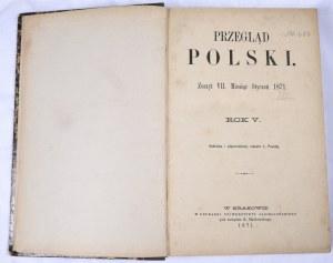 Przegląd Polski 1871 R. V, T. III