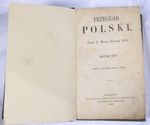 Przegląd Polski 1870, R. IV