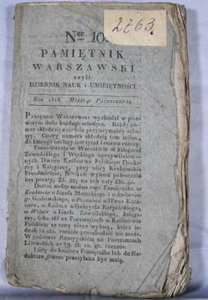 Pamiętnik Warszawski, R. IV, T. XII, 1818