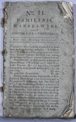 Pamiętnik Warszawski, R. VII, T. XXI, 1821