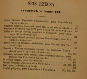 Przegląd polski 1873 R. VIII, lipiec - grudzień
