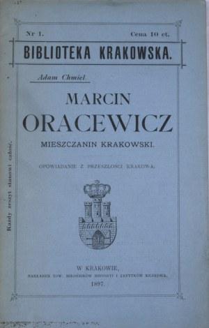 Biblioteka Krakowska nr 1 Marcin Oracewicz.