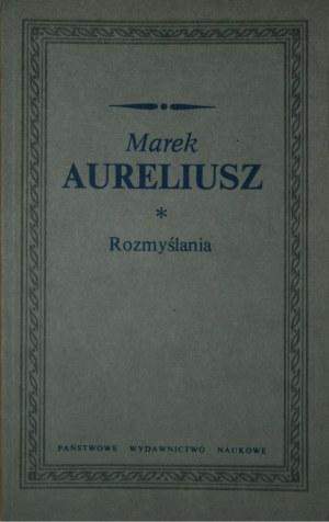 Marek Aureliusz - Rozmyślania.