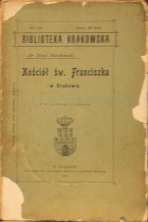 Biblioteka Krakowska nr 19 Muczkowski Józef - Kościół św. Franciszka w Krakowie.