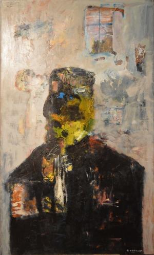 Andrzej Kasprzak (1963), Man and blue window