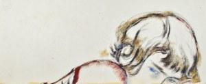 Leopold GOTTLIEB (1883-1934), Głowa kobiety