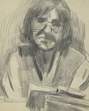 Stanisław KAMOCKI (1875-1944), Kobieta czytająca książkę, ok. 1943