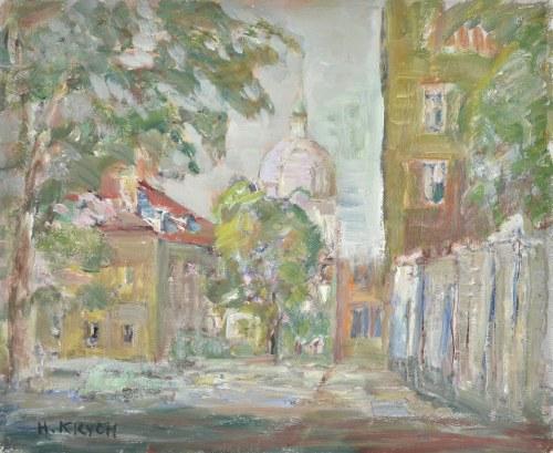 Henryk KRYCH (1905-1980), Zaułek Nowego Miasta w Warszawie